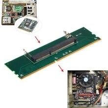 1,5 V DDR3 204 Pin portátil SO-DIMM A Adaptador de memoria de ranura DIMM de escritorio