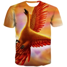 3d tshirt chama t camisa masculina phoenix tshirt impresso harajuku engraçado t camisas animais camisetas casuais hilariantes 3d
