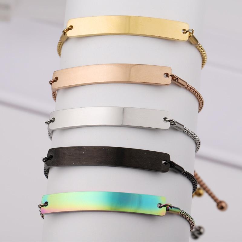 Fnixtar-أساور بقضيب منحني ، 20 قطعة ، طلاء مرآة من الفولاذ المقاوم للصدأ ، افعلها بنفسك ، مجوهرات