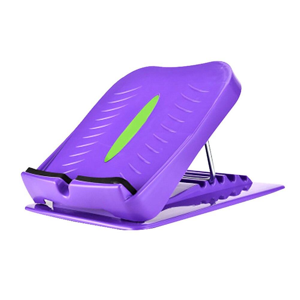 Ejercicio muscular en casa Fitness placa inclinada Aquiles estiramiento de pie interior al aire libre montar Oficina ABS pantorrilla Camilla