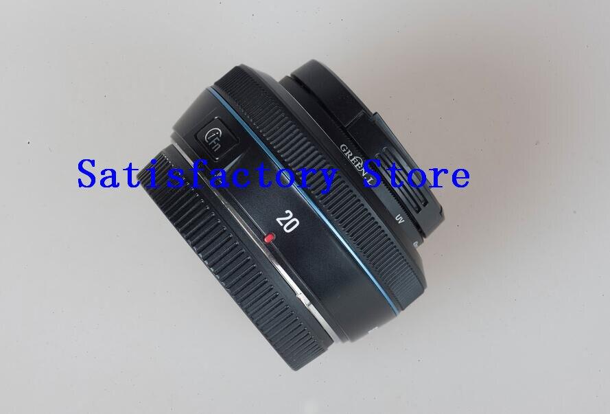 عدسة سوداء أصلية NX 20 مللي متر f/2.8 i-وظيفة ، لسامسونج NX1 NX30 NX500 NX300 NX3000 ، قطع غيار