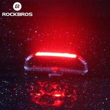 Велосипедный светильник ROCKBROS, велосипедный водонепроницаемый задний светильник 30LED, супер-светильник с зарядкой от USB, задний светильник дл...