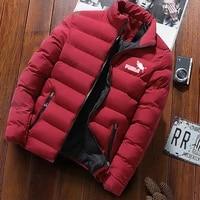 2021 mens winter jacket mens casual coat mens windbreaker zipper shirt stand collar coat%ef%bc%8cmens cotton padded clothes