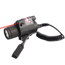Magorui Red Laser Sight LED Flashlight with 20mm Picatinny Rail Mount for Glock 17 19  Rifle Tactica