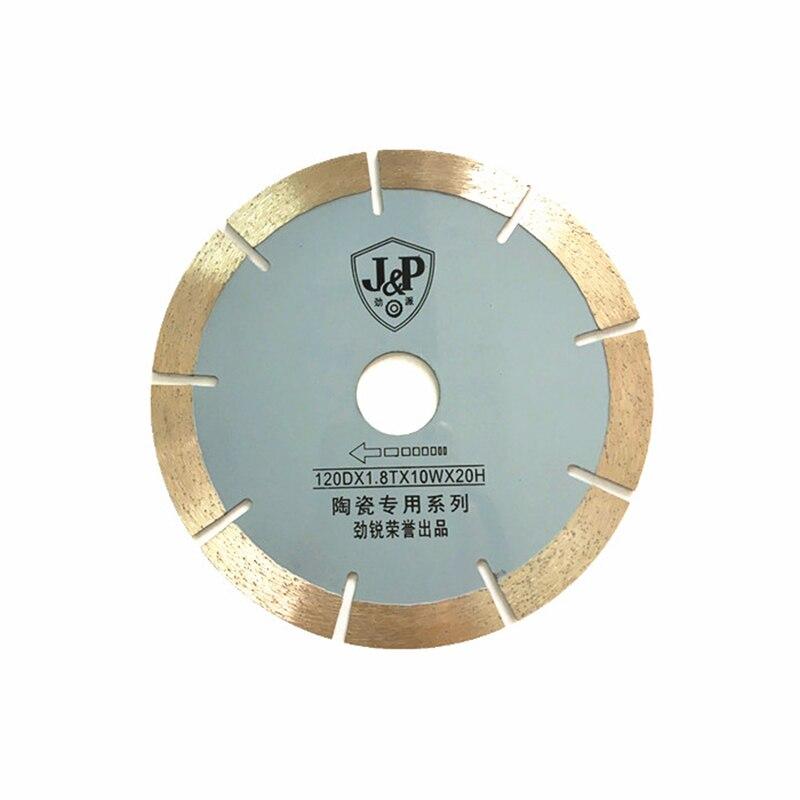 120mm  diamond saw blades for tile cutting machine 10pcs freeshipping Ceramic saw blade  hand push machine