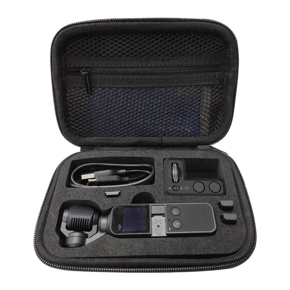 Mini bolsa de Estuche de transporte portátil para DJI Osmo, estabilizador de bolsillo, cardán de mano, carcasa protectora, caja, accesorios, piezas de repuesto