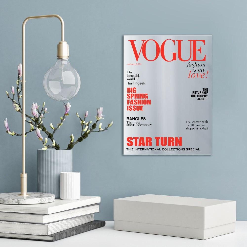 Model Novidade Parede Espelho Presente Moda Vogue