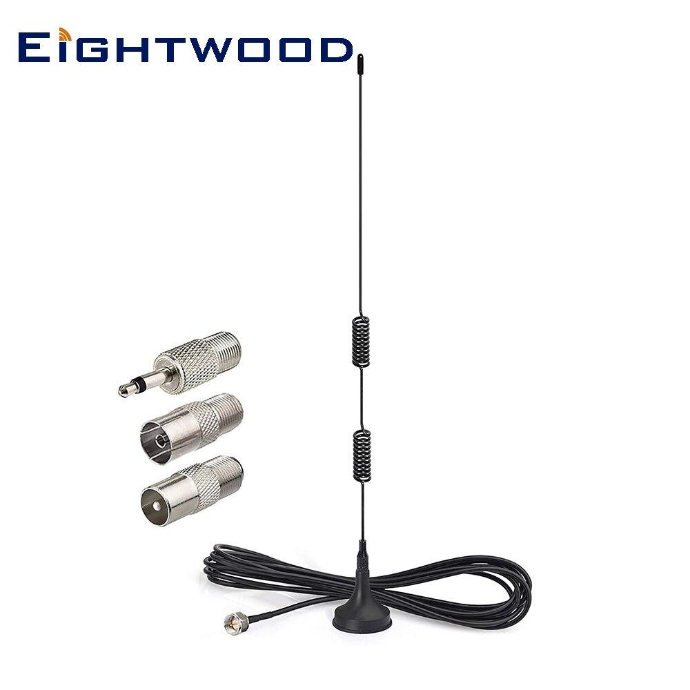 Eightwood Antena de Radio FM F antena para Denon pionero Onkyo Yamaha modelo de Sherwood, Radio de alta definición FM AV Audio y vídeo RECEPTOR ESTÉREO