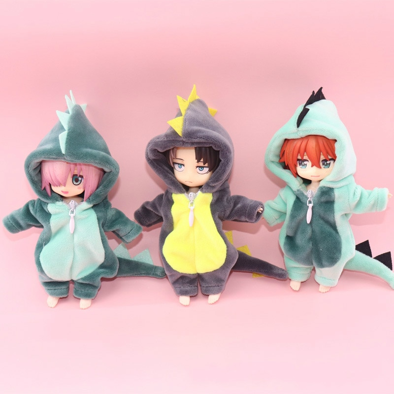 OB11 Doll clothes Dinosaur animal monster Doll Clothes for ob11molly gsc 1/12 BJD,body9,YMY,DDF obitsu 11 clothes Doll accessoy недорого