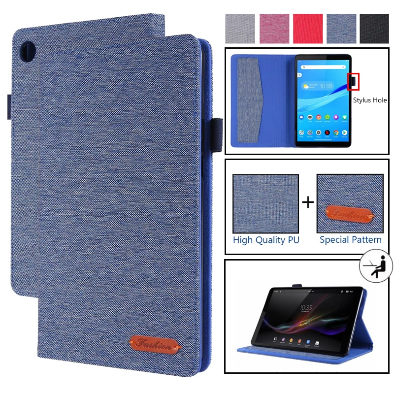 Case For Lenovo Tab M8 Case PU Leather Flip Stand Cover For Lenovo Tab M8 TB-8505F TB-8505X TB-8505I 8.0 inch Tablet Case Funda