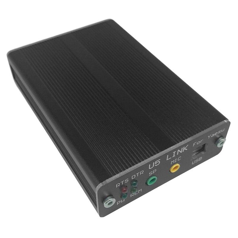 USB الكمبيوتر رابط محول راديو موصل ل YAESU FT-450D FT-950D DX1200 FT991 U5 وصلة + 5 كابل