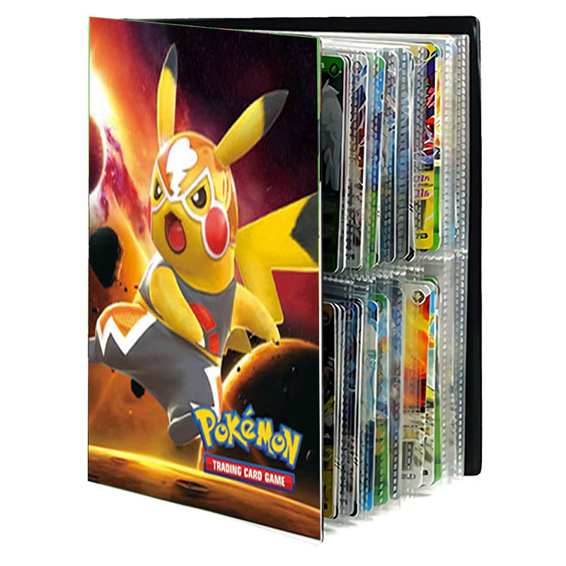 Pokemon Cards Album Book Cartoon TAKARA TOMY Anime New 80/240PCS Game Card VMAX GX EX Holder Collection Folder Kid Cool Toy Gift