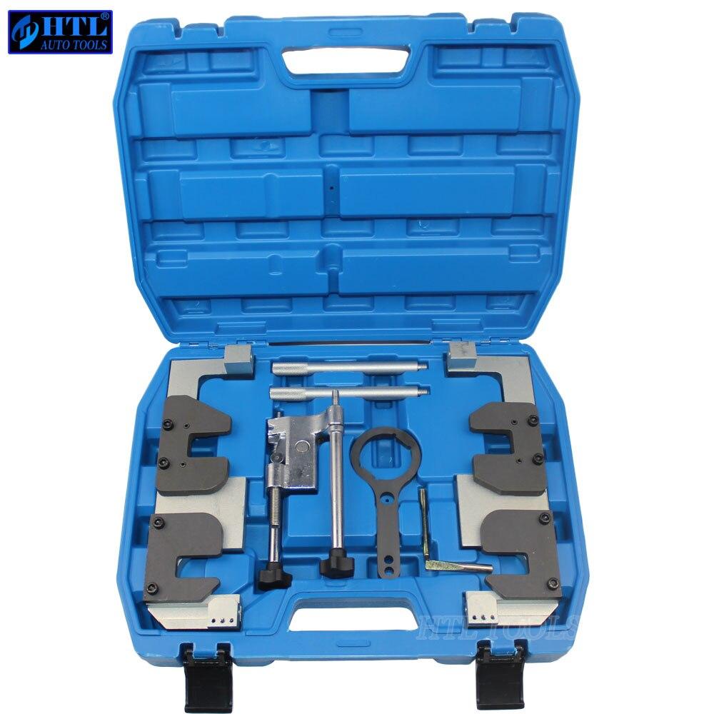 Kit de ferramentas de bloqueio sincronismo alinhamento da árvore de cames do motor para bmw s63 m3 m5 tempo especial conjunto ferramentas