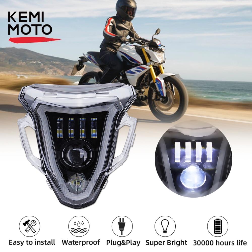 Kemimoto الصمام العلوي أضواء ل BMW F800R F 800 R الدراجات النارية كاملة الصمام العارض العلوي الجمعية 2015 2016 2017 2018