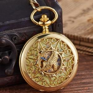 New arrival Mechanical pocket watch Golden Carved Flower Pattern Hollow Women's' high-heeled shoes Hand Wind Pocket Watch