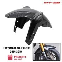 for yamaha mt 09 fz 09 mt09 fz09 2014 2015 2016 2017 2018 2019 motorcycle carbon fiber front fender front fender splash guard