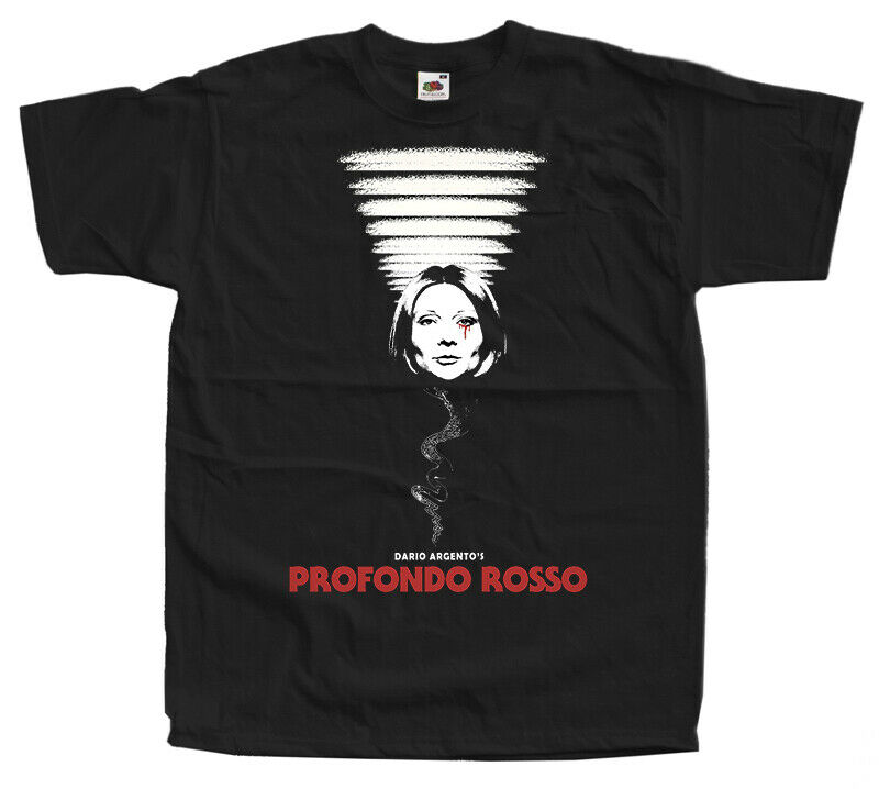 Profondo Rosso V1 dardo Argento cartel de película de terror 1975 camiseta todas las tallas S-5XL