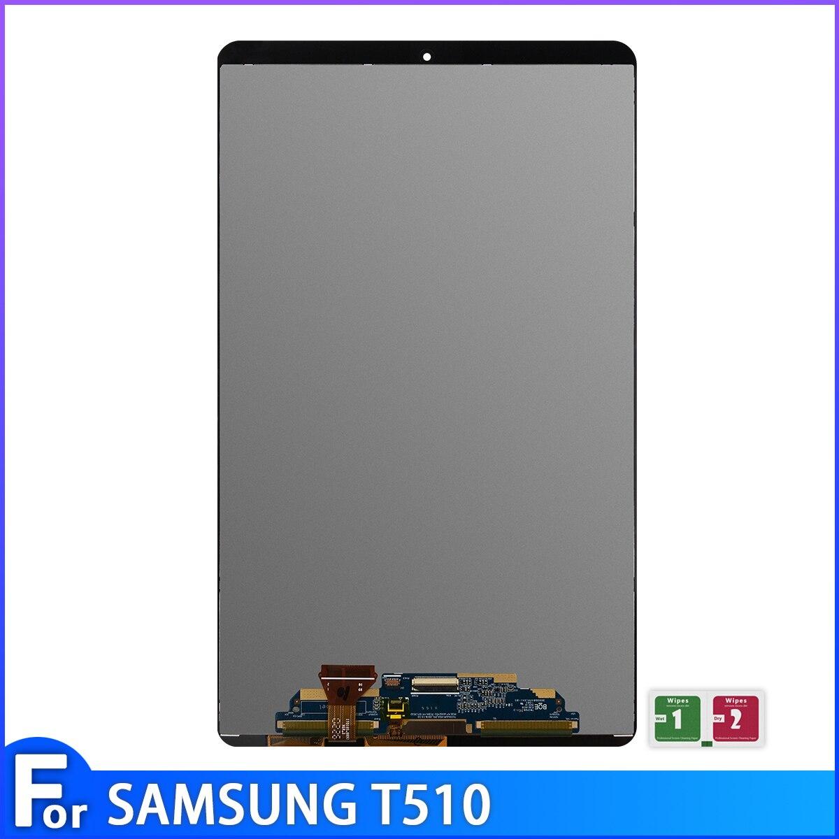 [해외] 삼성 갤럭시 탭 A 10.1(2019) T510 SM-T510 T510N LCD 디스플레이 터치 스크린 어셈블리 T515 100% 테스트