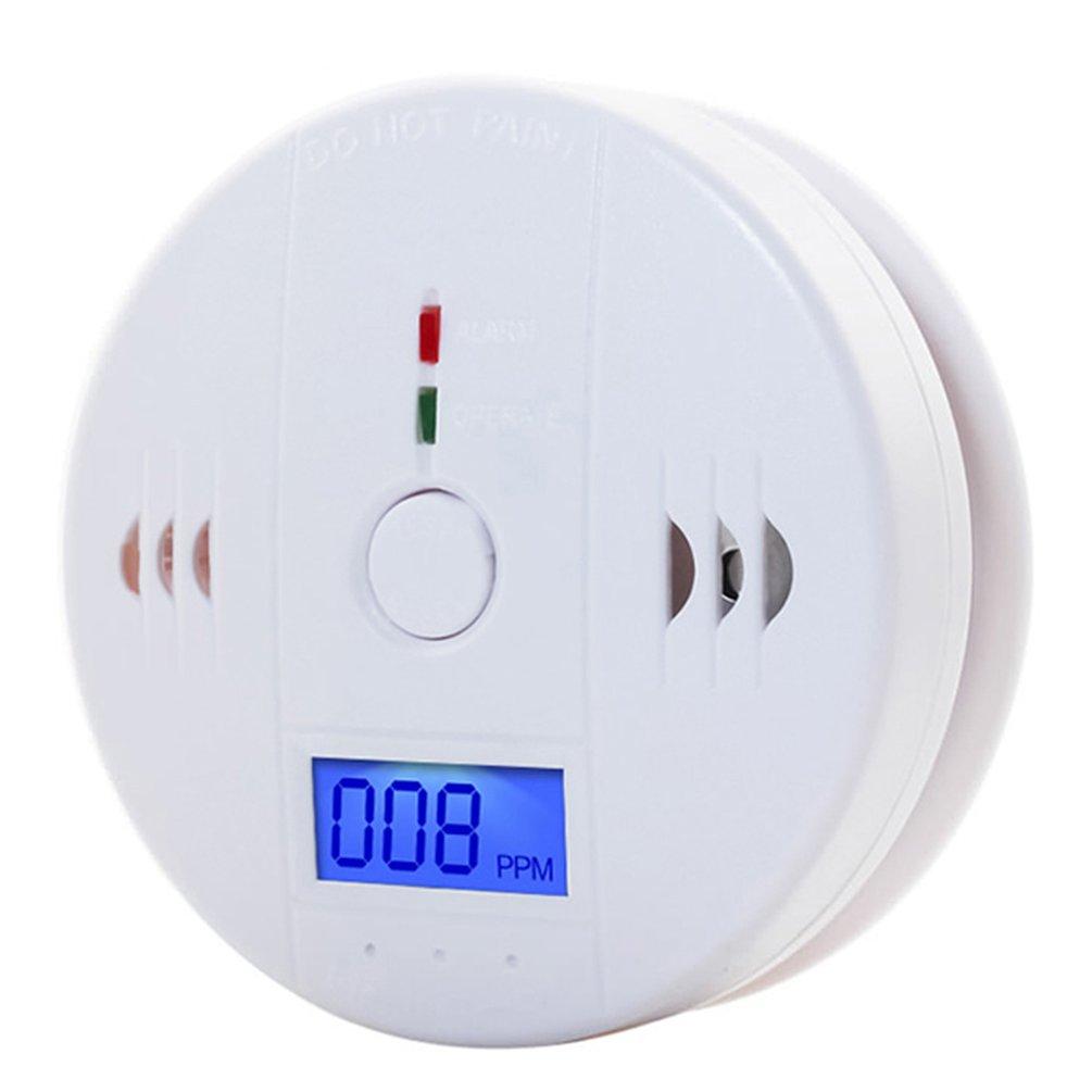 CO Tester Carbon Monoxide Detector LCD CO Gas Sensor Alarm 85dB Siren Sound Stove Honeycomb Coal Smoke Warn Alarm Home Security