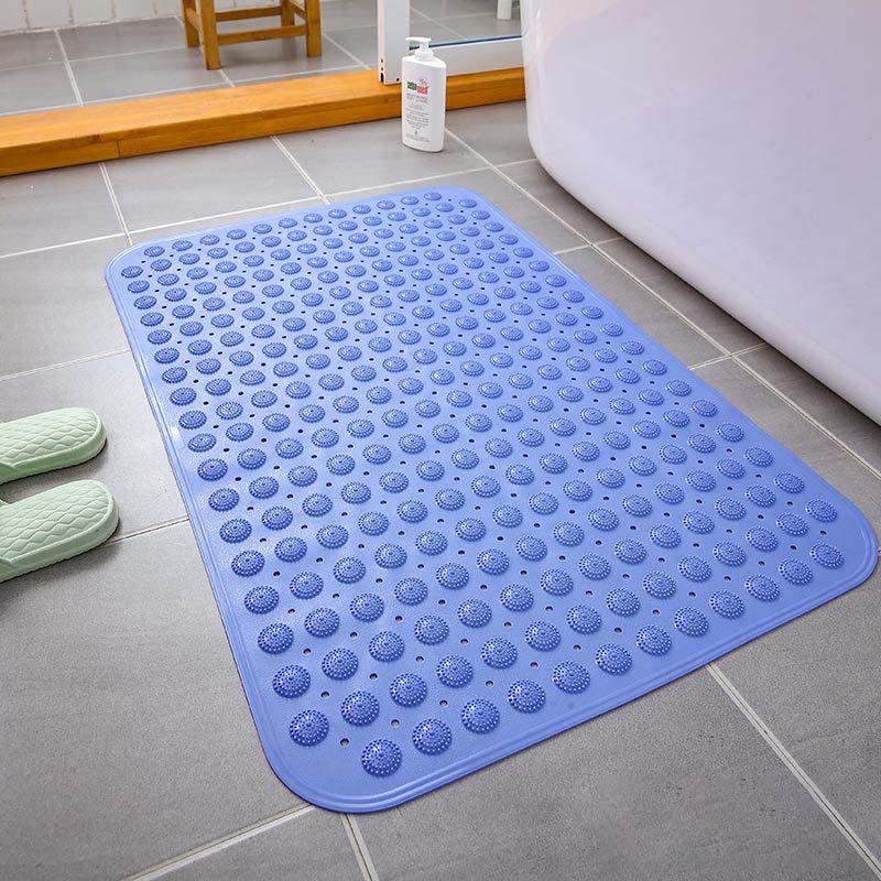 Strong Suction Bathroom Mat PVC Massage Particle Foot Pad Anti Slip Odorless Non-Toxic Bath Shower Mat Modern Home Decor 36*68cm