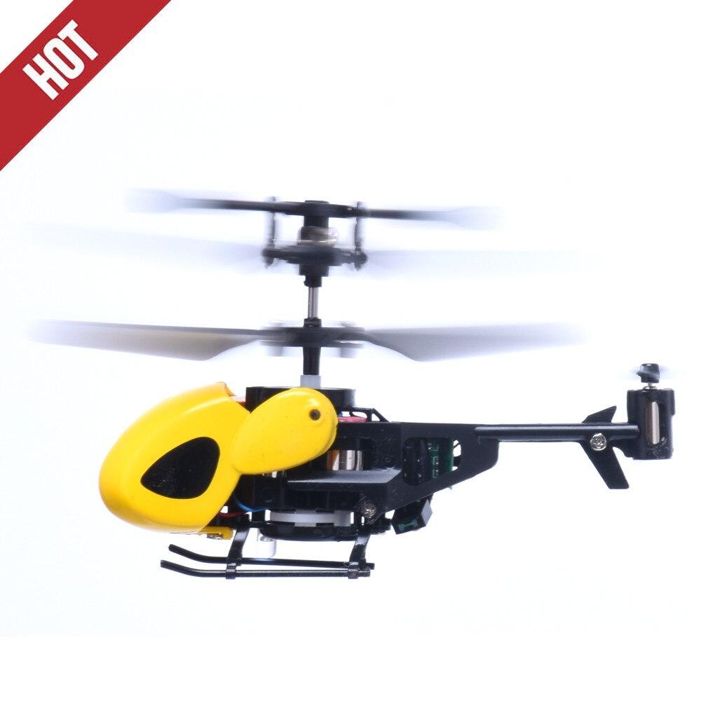 RC 2CH Mini helicóptero radiocontrolado Radio Avión de Control remoto Micro 2 canales Rc juguetes para niños regalo en el ejército