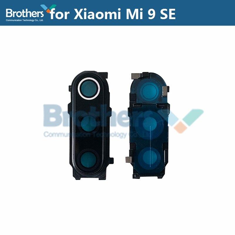 Original para cámara Xiaomi Mi 9 SE Mi9 SE M1903F2G, marco de cámara de cristal, Círculo de protección para cámara Xiaomi 9 se, piezas de teléfono nuevas
