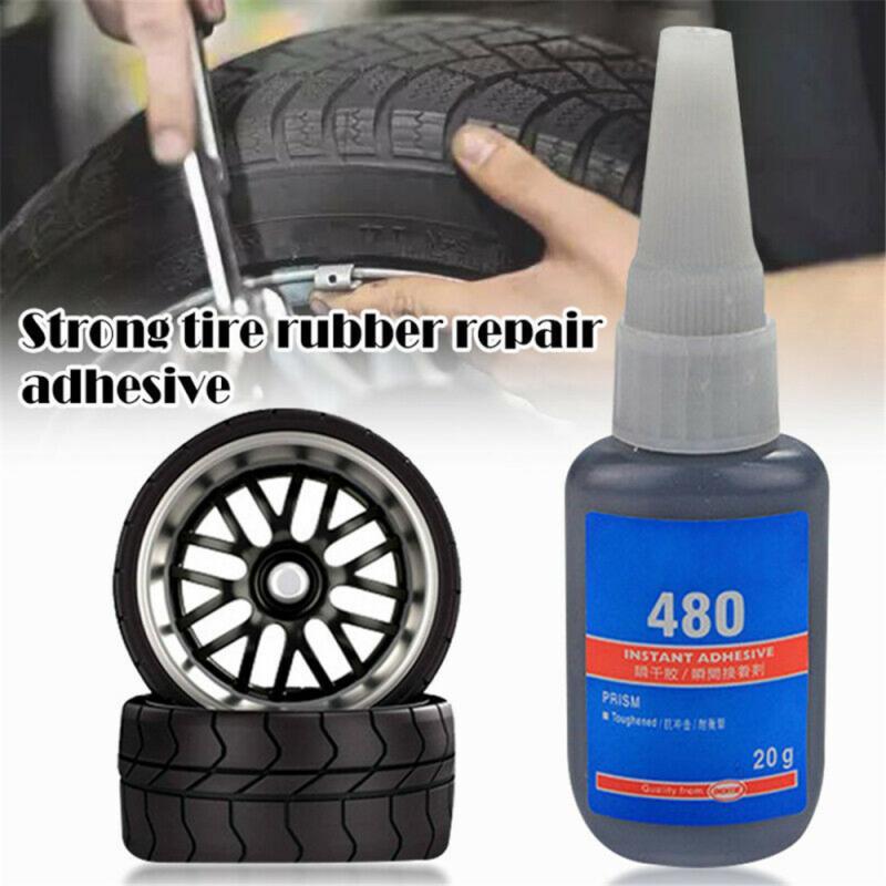 Супер-клей 480, Ремонт автомобильной резины, фотомагнитный клей для ремонта шин и динамиков, безопасный клей для ремонта шин