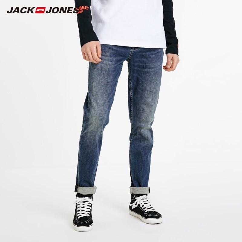 Pantalones vaqueros JackJones ajustados informales para hombre a la moda básicos para Hombre   219132580