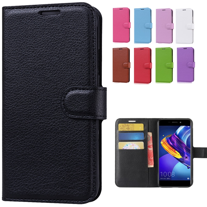 For Huawei Honor 6C Pro Leather Flip Case For Honor 6c Pro Back Cover Phone Case For Honor 6C Pro Wa