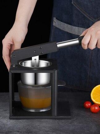 Stainless Steel Manual Juicer Orange Juice Extruder Pomegranate Lemon Fruit Mini Hand Work enlarge