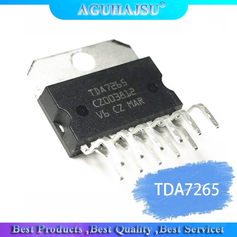 4 шт./лот аудио усилитель IC TDA7265 TDA7265B ZIP-11 тест хорошо