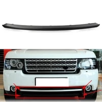 glossy black car front bumper center trim abs plastic for land rover range rover iii l322 2010 2011 2012 facelift