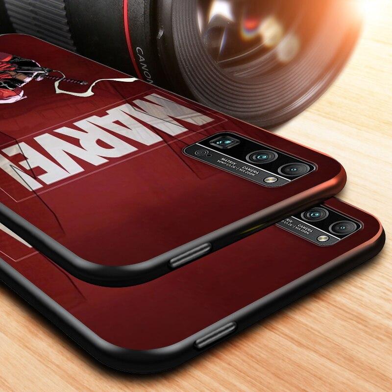 MARVEL-Deadpool- for honor 8 9 10 10i 20 20i 20E 20S View 20 30 30i 30S 10X X10 V20 V30 Pro Plus Lite RU Black Phone Case