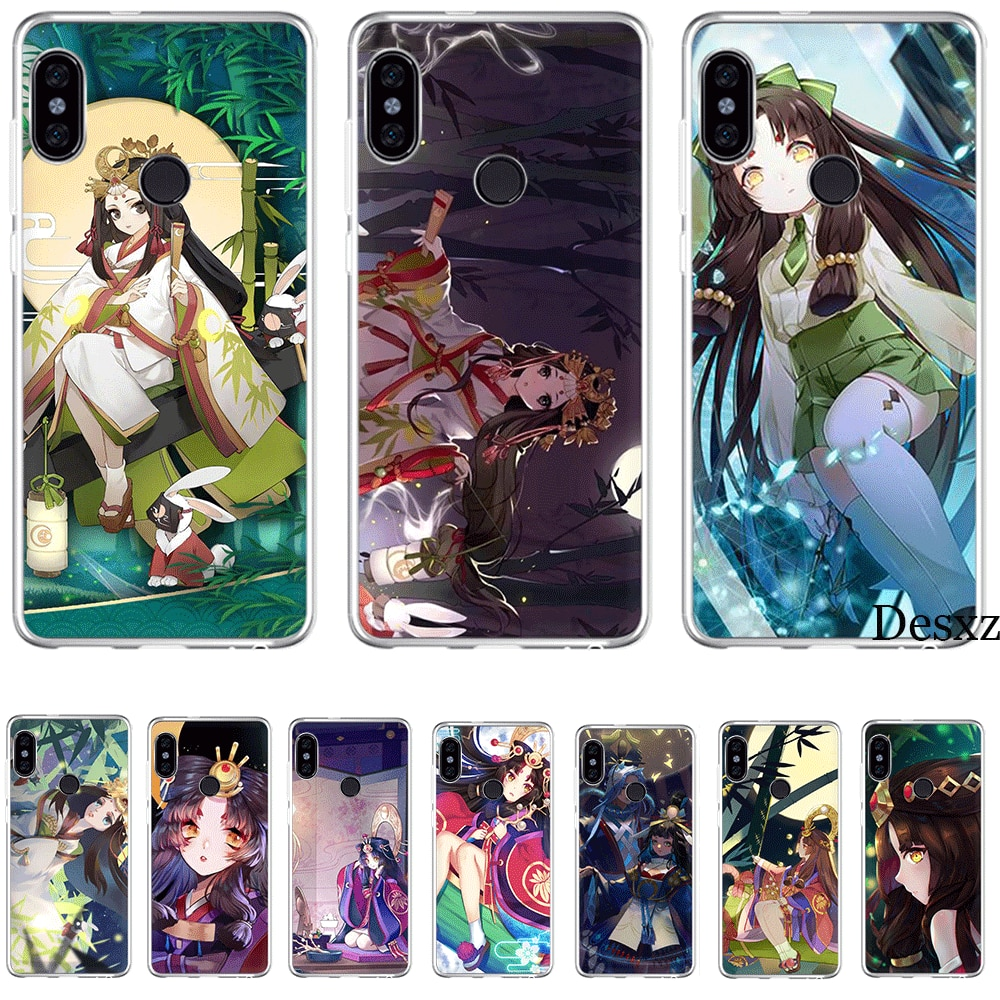 Phone Case For Xiaomi Redmi 3 3S 4 4A 4X 5 5A 6 7 Go 6A S2 K20 Pro Prime Plus Cover Kaguya Hime Onmyoji