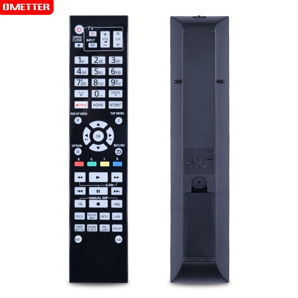 N2QAYA000130 DVD remote control  N2QAYA000128 for-Panasonic DMP-UB900 DMP-UB900GN DMP-BDT700 Blu-Ray DVD Player new n2qayb000011 remote control fit for panasonic dvd dvd s1s dvd s1