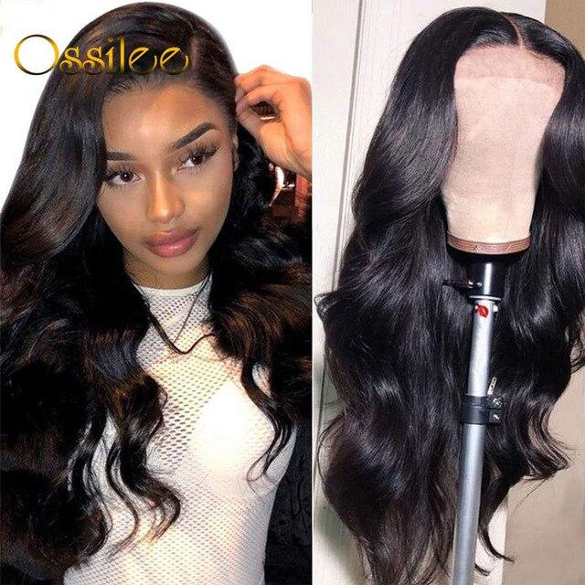 13x4/13x6/360 Lace Frontal Wigs Brazilian Body Wave Remy Human Hair Lace Wigs for Black Women 4x4 Human Hair Closure Wigs