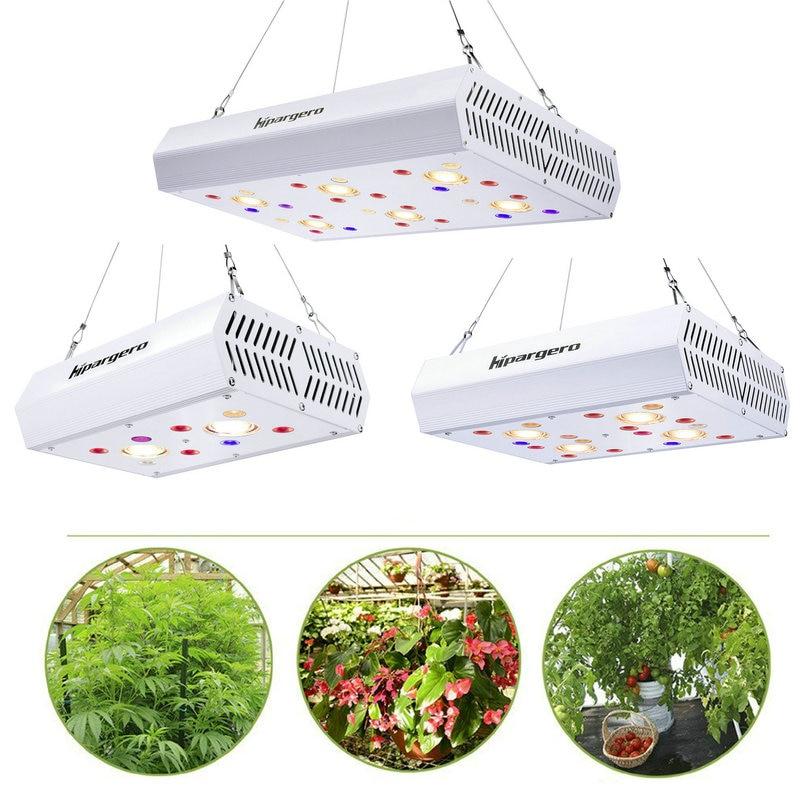 800W 1200W LED Grow Light 3000K COB Full Spectrum including UV IR Daisy Chain For Indoor Hydroponics Plants