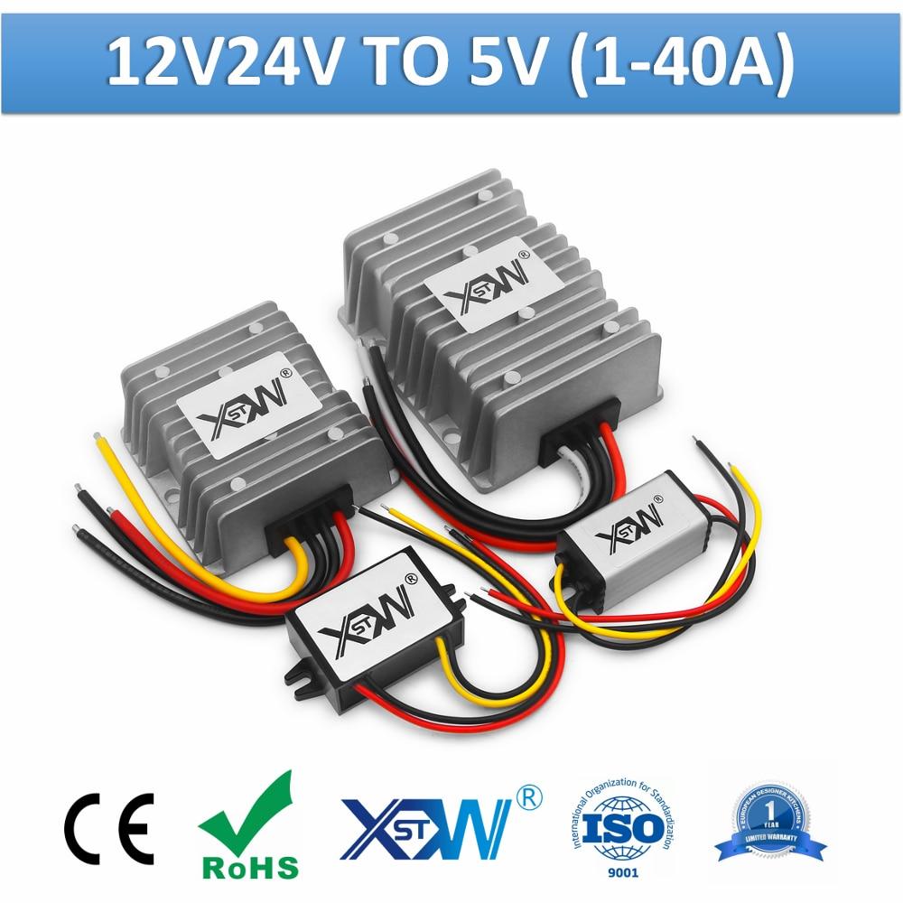AliExpress 24V to 5V 10W power supply