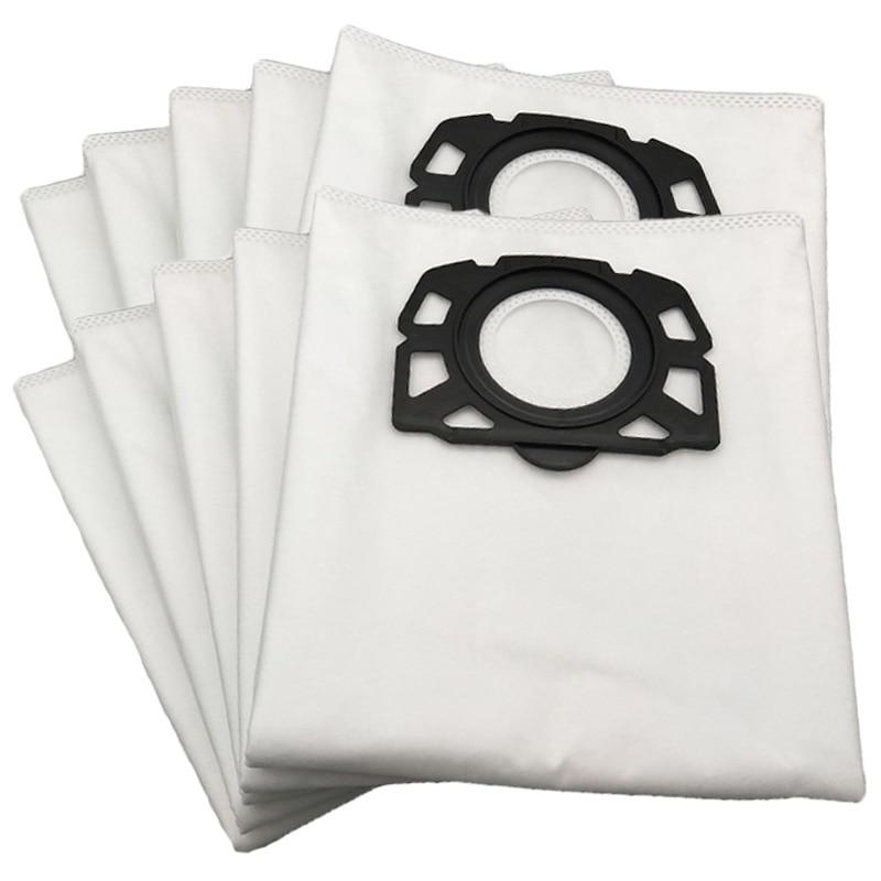 12 أجزاء/وحدة كيس لجميع الغبار مكنسة كهربائية كيس لجميع الغبار ل كارشر Mv4 Mv5 Mv6 Wd4 Wd5 Wd6 قابل للغسل مكنسة كهربائية حقيبة