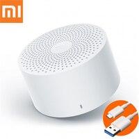 Портативная колонка Xiaomi Mijia, Беспроводная Bluetooth-Колонка Xiao AI, оригинальная умная музыкальная мини-колонка с голосовым управлением, свободны...