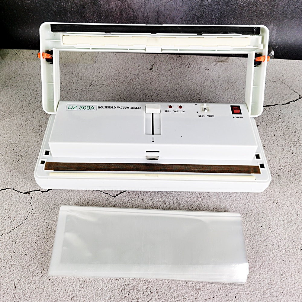 Packaging Machine Vacuum Pack  Small Smooth Bag Vacuum Packaging Machine Food Preservation Multifunctional DZ-300A With Bags