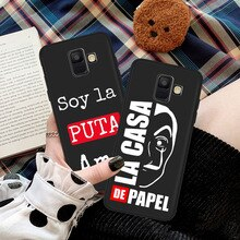2020 Spain TV Money Heist House Paper phone case For Samsung A20 A30 A40 A50 A70 A90 A5 A6 A7 A8 A9 A10 J4 J5 J6 J7 J8 Plus