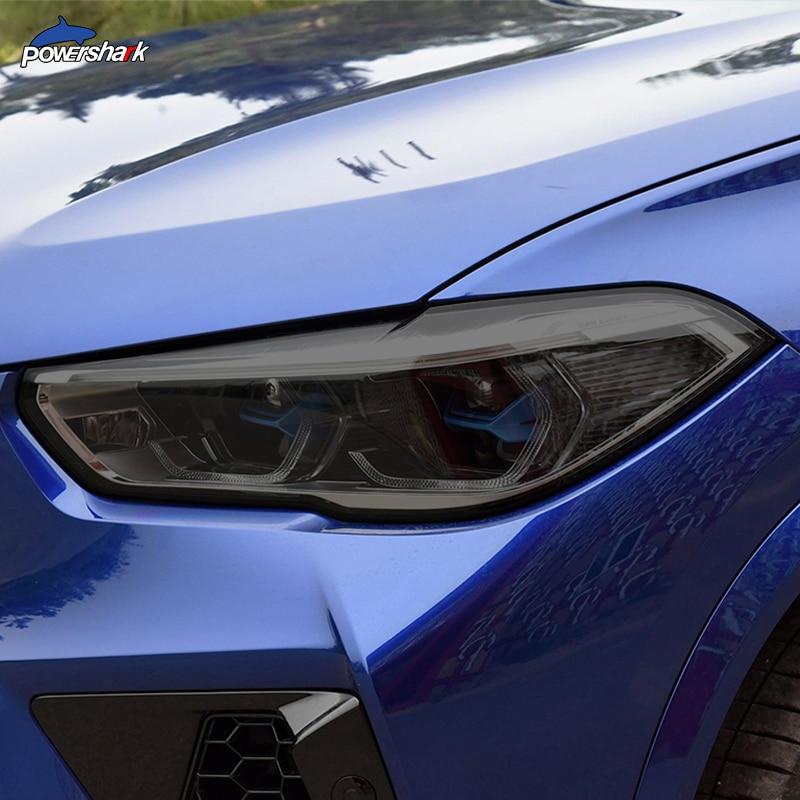 تينت العلوي المدخن الأسود واقية فيلم TPU ملصقا ل BMW X1 F48 X2 F39 X3 F25 G01 X4 F26 G02 X5 F15 G05 X6 F16 G06 X7