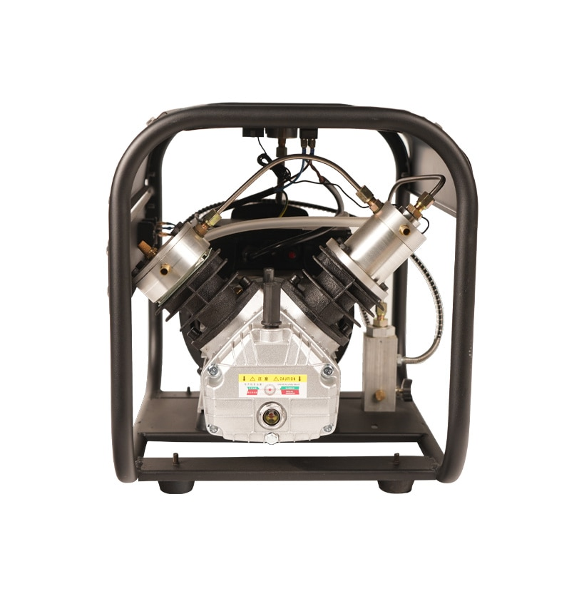 4500Psi Double cylindre haute pression Pcp compresseur dair pompe à Air électrique compresseur dair pour plongée gonfleur de remplissage de plongée