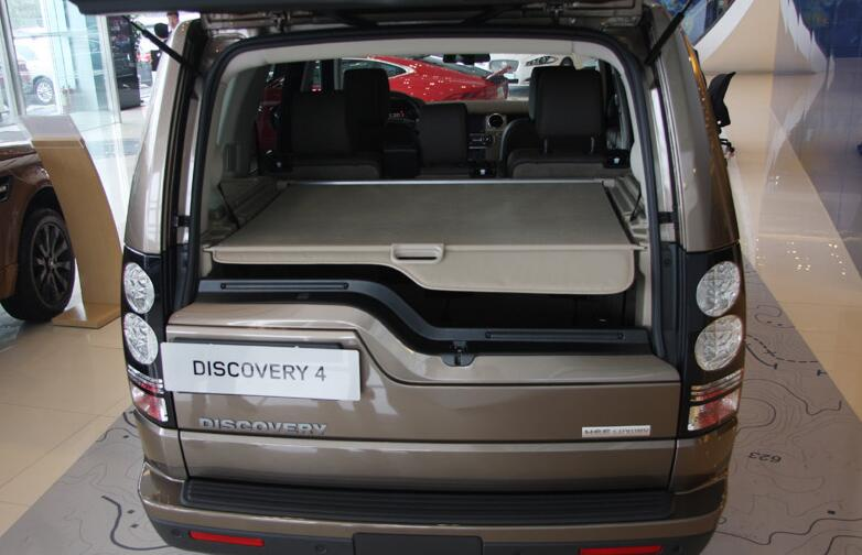 High Qualit Car Rear Trunk Cargo Cover Security Shield Screen shade Fits For Land Rover Discovery 4 LR4 2010-2015(black, beige) enlarge