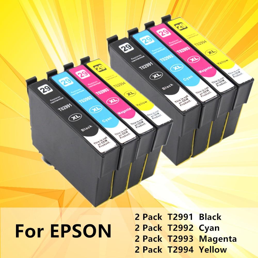 Reemplazo 2991 T2991XL T2991 para cartuchos de tinta Epson 29XL XP235 XP247 XP245 XP332 XP335 XP342 XP345 XP435 XP432 XP442 impresora