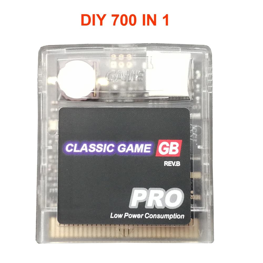 الصين الإصدار 700 في 1 لتقوم بها بنفسك EDGB gameboy لعبة كاسيت ، ومناسبة لسلسلة everdrive GB GBC SP لعبة وحدة التحكم
