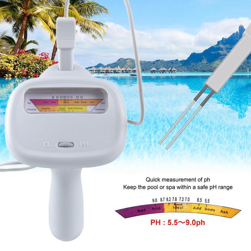 2 uds. Medidor de PH y cloro, Calidad de Agua CL, medidor de Spa portátil, herramientas digitales analíticas para piscinas