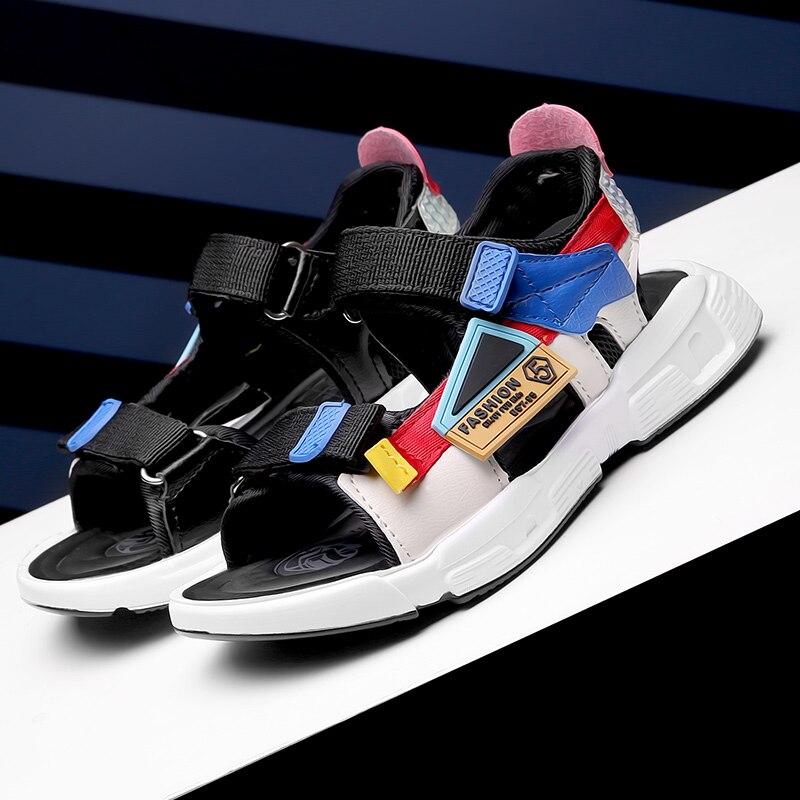 2020 New Style Summer Sandals Young Student's Anti-slip Big Boy Slipper Children's Sandals Boy's Soft-Sole Fashion Summer Shoes