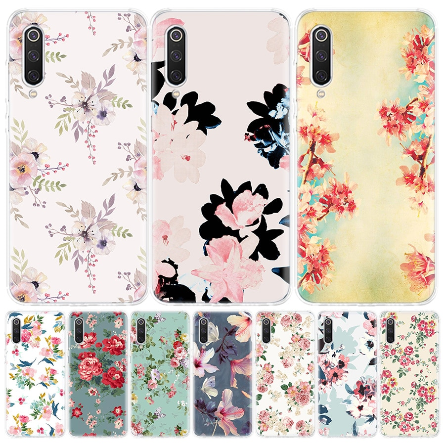 Mandala Blume Datura Blumen Telefon Fall Für Xiaomi Redmi 6A 7A 8A Note5 7 8 8T 9S 10 k20 K30 S2 MI8 9 6x CC9 F1 Lite Pro Abdeckung C